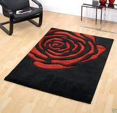 red and black rug black and red rose design rugs red black grey rug red and black rug