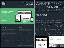 website advertisement template dark web design services flyer template flyerheroes