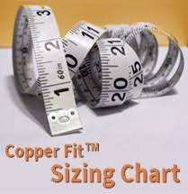 Copper Fit Gloves Size Chart Copper Fit Sizing Chart Copper Fit Reviews And News