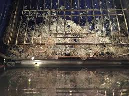 kitchenaid kems308sss glass door exploded