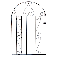 clifton arch top metal garden gate 4ft