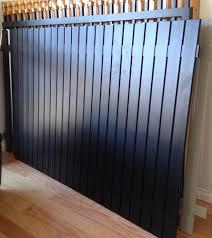 aluminum privacy fence. 6 Feet High Aluminum Half Privacy Fence O