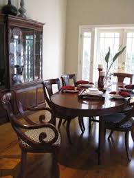 i love these dining chairs c regency british colonial dining room traditional dining room los angeles madison modern home