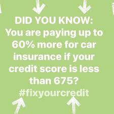i actually do know credit tip tuesday not only will your car insurance rate go down but so will your interest rates sign up today