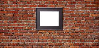 famous hanging wall art for brick wall pertaining to how to hang a picture on a
