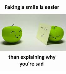 Image result for its easier to smile than explain why you're sad