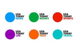 Usa Today Country Chart New Usa Today Logo S Design Branding Newspaper Art