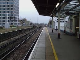 New Malden railway station