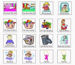 Autism Chore Chart Chore Chart Icons Free Printable Chore Charts Chore Chart