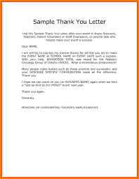 11 Thank You Letter For Appreciation Think Down Town Kc