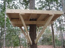 free tree house plans deluxe building pdf treehouse standing