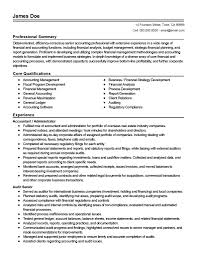 Accounting Page 5 Of 25 Resume Templates 2019