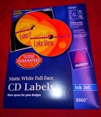 Avery Cd Labels Used Avery Cd Dvd Labels Still In New Condition In Original