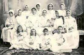 Alta Dillon slumber party 1898 | Slumber parties, Old dolls, Vintage  children