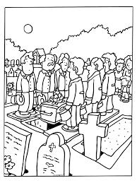 Donald Duck Weekblad Kleurplaat Tod Beerdigung Malvorlagen