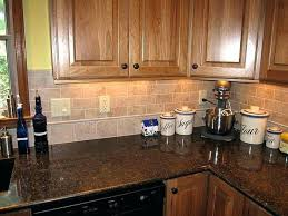 kitchen tile backsplash ideas oak cabinets kitchen cabinets ideas a simple beige colored kitchen with a