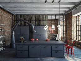 Industrial Kitchen Furniture Industrial Style Kitchen Design Ideas Marvelous Images