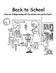 In addition, the kid is carried away and does not bother his mother while she does her business. Back To School Free Coloring Pages Crayola Com