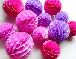 Diy Flower Balls Tissue Paper Daily Mall 12pcs 6 Inch 8 Inch 3 Colors Paper Balls Art Diy Flower Balls Tissue Paper Honeycomb Balls Party Partners Design Craft Wall Decoration