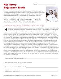 african american history month activities sojourner truth her story sojourner truth