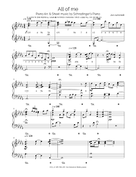 All of me sheet music by jon schmidt. Print And Download In Pdf Or Midi All Of Me Jon Schmidt Free Sheet Music For Piano Made By Ghtime Guitar Chords For Songs Sheet Music Free Sheet Music