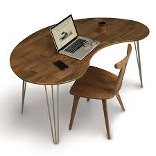 Walnut office furniture Table Cable Management Essentials Kidney Shaped Desk Copeland Walnut Office Furniture Made In America Essentials Kidney Shaped Desk Copeland Walnut Office Furniture