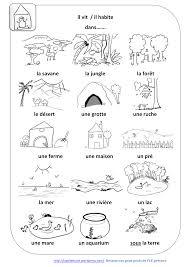 Petit Dictionnaire Sur Les Animaux Imagiers Habitats Des