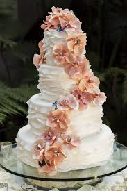 Cakes Desserts Photos Cascading Flower And Butterfly Cake