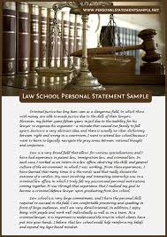 Law school personal statement writing service Resume Cover Letter