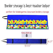 Teacher Chart Storage Classroom Border Storage Pocket Chart By Headif Clear Pvc Bulletin Border Storage And Organization Teacher Border Holder Storage Charts