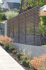 Modern metal fence design Front Entrance Modern Horizontal Stacked Fence 60 Gorgeous Fence Ideas And Designs Renoguide Australian