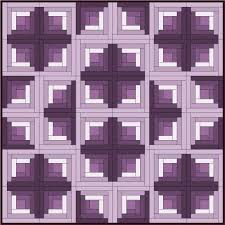Best 25+ Log cabin quilts ideas on Pinterest | Patchwork patterns ... & I love this log cabin layout by Sandi Walton of Piecemeal Quilts. Adamdwight.com