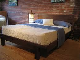 Modern Solid Wood Platform Bed » Home Decorations Insight