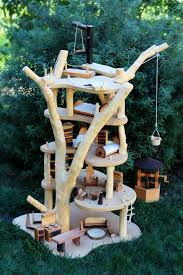 treehouse furniture ideas. Wooden Fairy Tree House Treehouse Toy Furniture From Wood. Home Decor Ideas. Ideas I