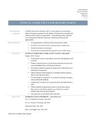 ... Nurse Educator Resume Inspirational Clinical Nurse Educator Resume  Template and Job Description ...