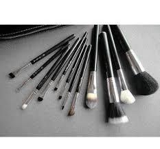 mac cosmetics professional brush set 12 piece with case