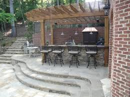 patio with pool and grill. Interesting Pool Outdoor Kitchen Bar And Grill Americantraditionalpatio Intended Patio With Pool And