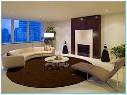 what size should an area rug be for a living room