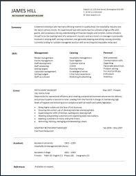 resume attributes assistant manager resume from resume personal attributes examples