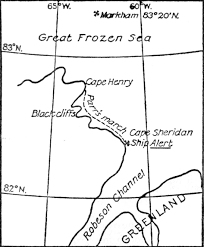 Parr's march the great frozen sea and robeson channel