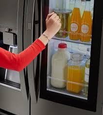 lg refrigerator instaview. 7 reasons lg instaview™ door-in-door® refrigerator is perfect for families lg instaview