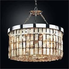 full image for great chandeliers com la jolla oyster shell chandelier semi flush mount by glow