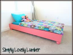 ana white  platform toddler bed  diy projects