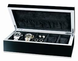 top 3 jewelry valet boxes for men best of 2017 leather jewelry valet box for men