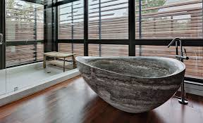 these are the most impressive natural stone bathtubs on the internet adorable home