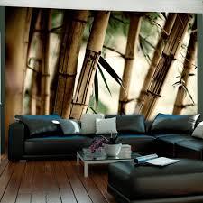 Fotobehang Mist In Het Bamboe Bos Karo Art Vof
