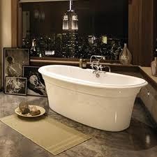 Lovely Maax Ella Embossed Freestanding Bathtub