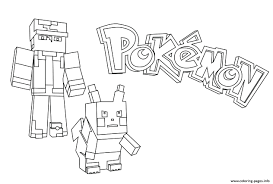 Coloring Minecraft Steve Coloring Pages Printable Free For