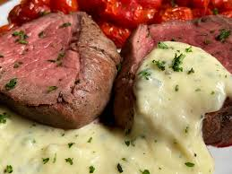 Beef tenderloin is the classic choice for a special main dish. 885 Filet Of Beef With Gorgonzola Sauce Store Bought Is Fine