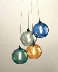 colored glass pendant lights pendant lighting